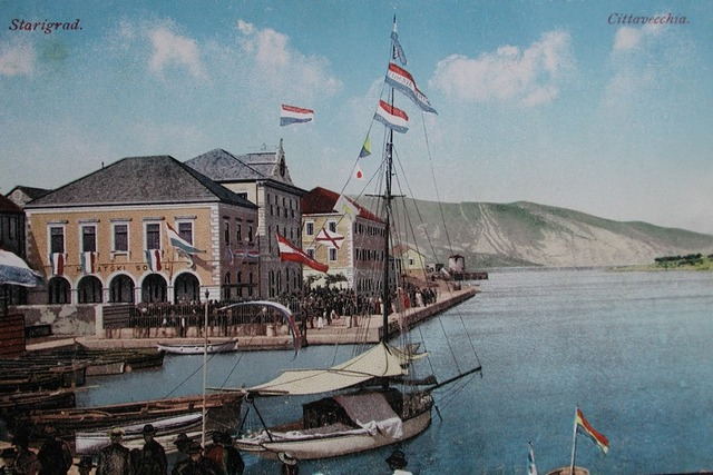 New Seafront, postcard from the early 20th c.
