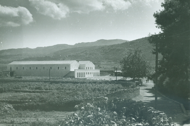 Winery in Stari Grad, built in the 1950s