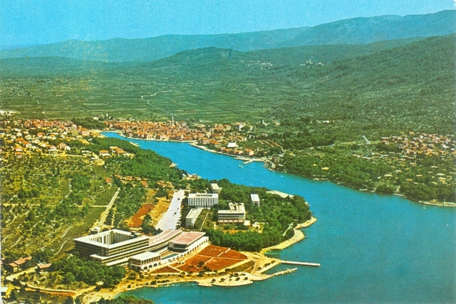 Postcard from the 1960s, with newly built hotels