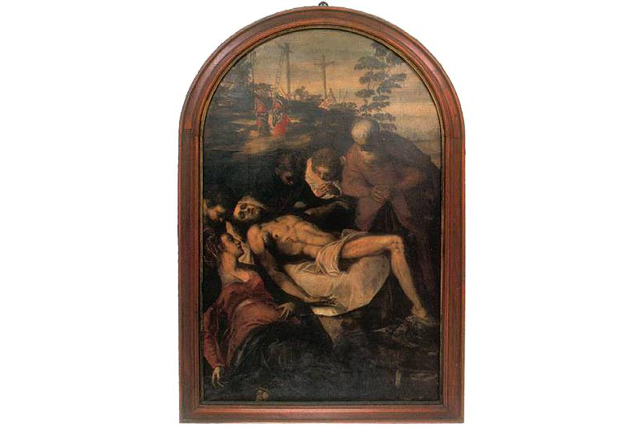 Tintoretto, Lamentation of Christ (Museum of Dominican monastery)